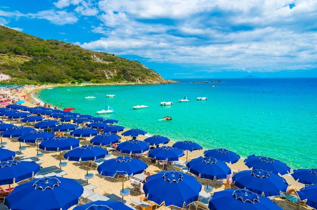 Cavoli Beach, Elba, Italy