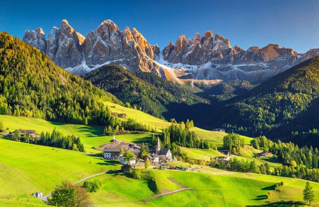 Dolomite Mountains, Italy