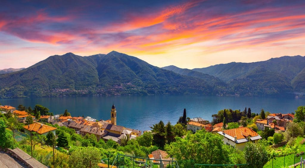 Town of Carate Urio,  Lake Como, Lombardi, Italy