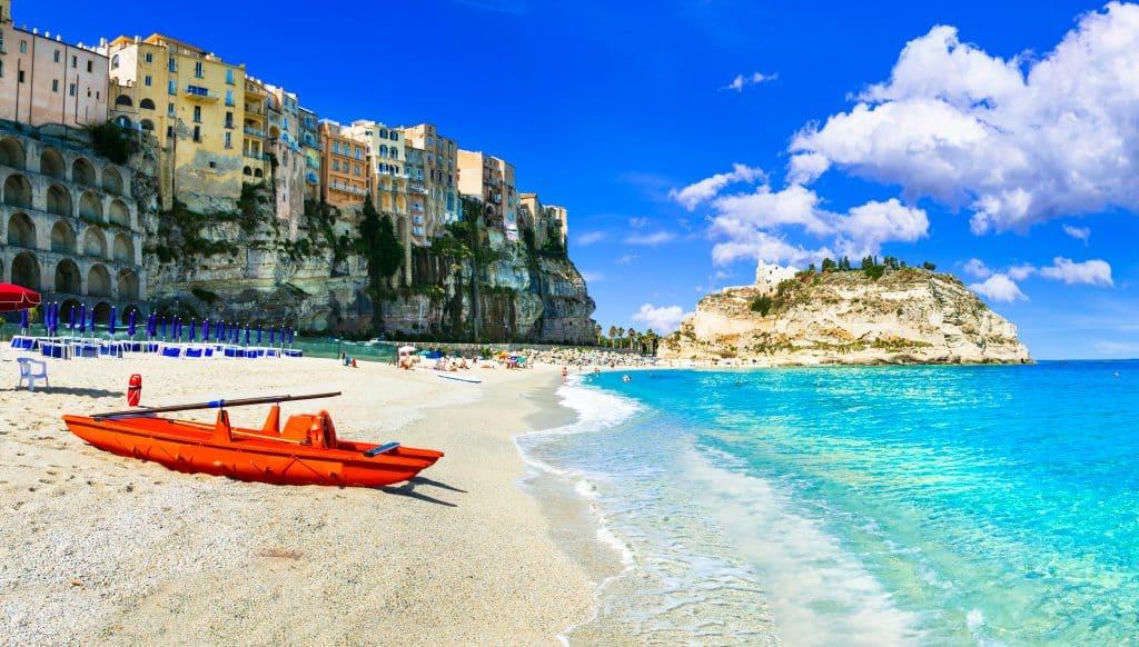 Marasusa beach, Calabria, Italy