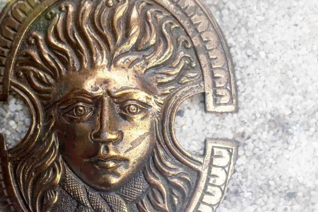 Pagan God Sol Invictus (Unconquered Sun), Roman Empire, Christmas Day