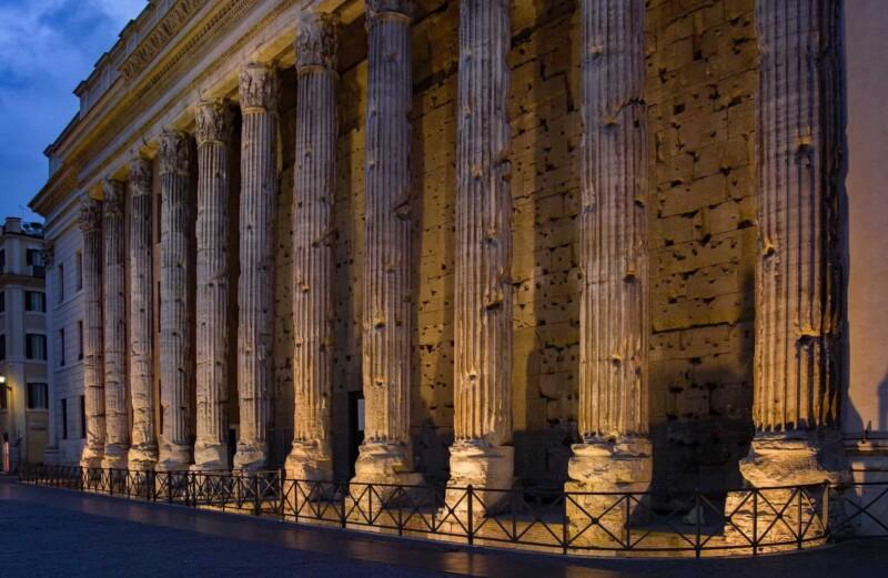 Pagan Temple, Ancient Roman Holidays