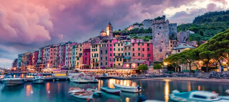 Panorama of Portofino, Best places to visit on Italian Riviera