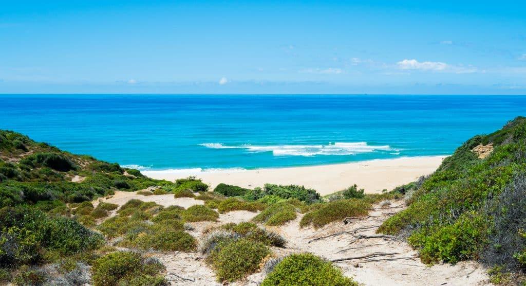 Scivu Beach, Costa Verde, Sardinia, Italy
