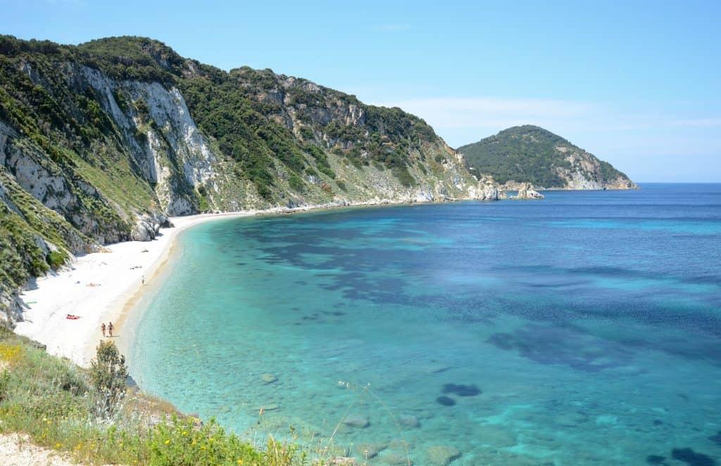 Spiaggia di Sansone beach, Elba, Italy