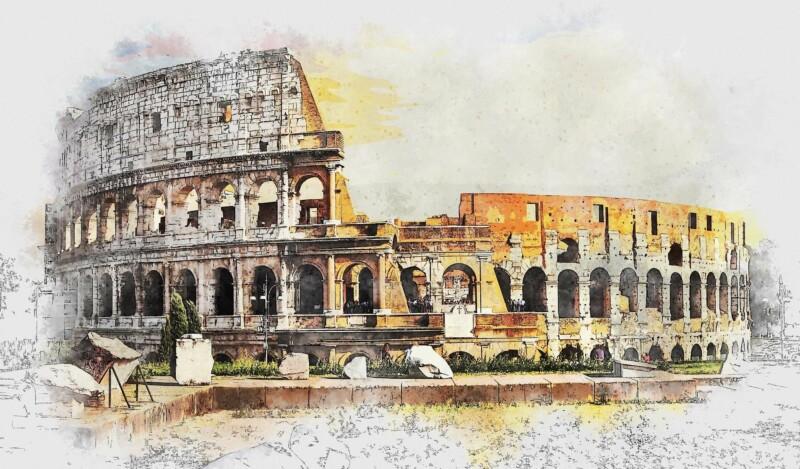 The colosseum, Rome, best tour