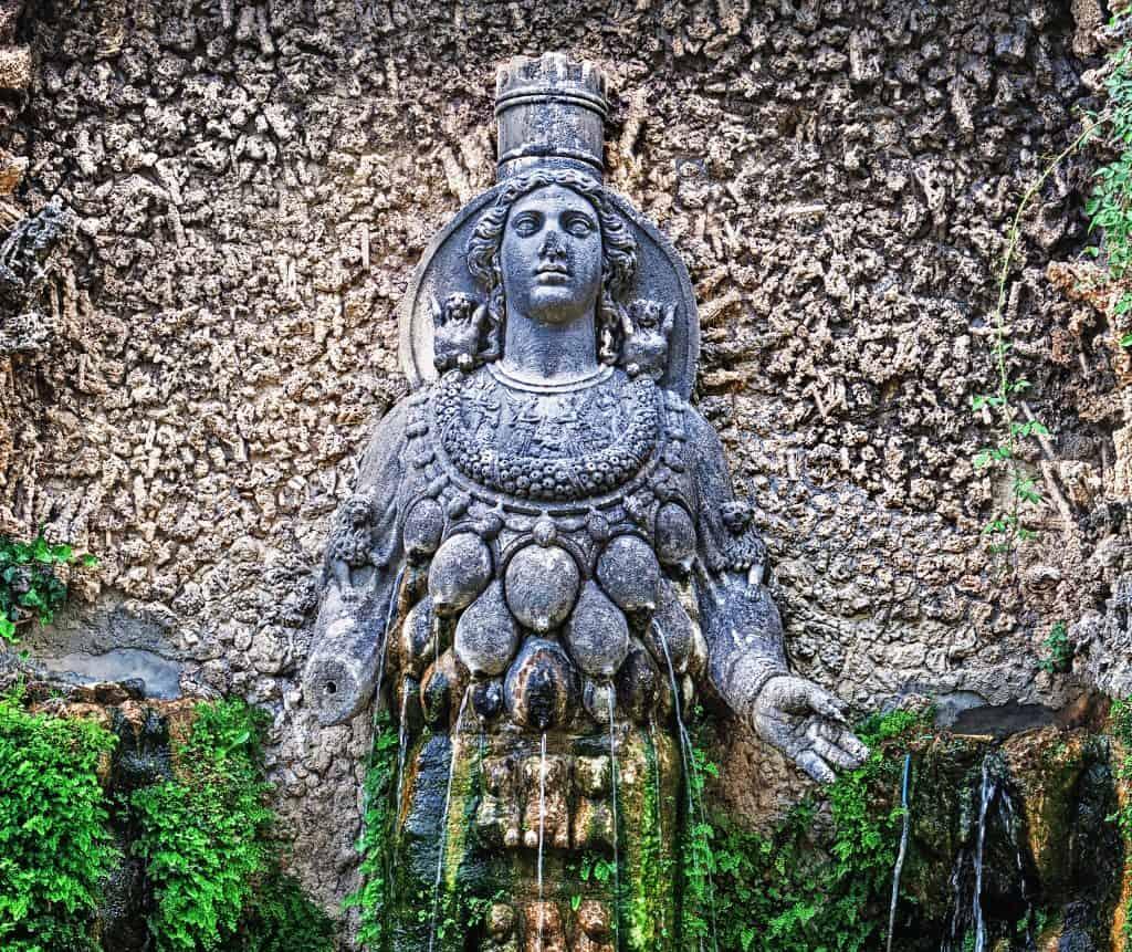 the goddess of fertility, Tivoli, Italy