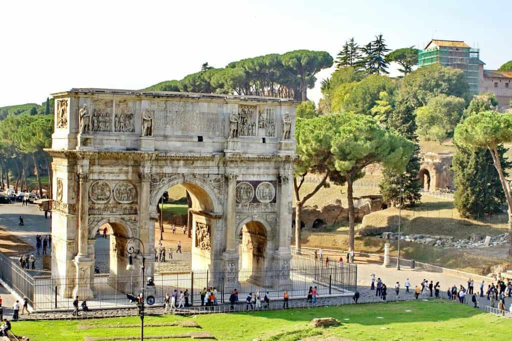 Arch of Septimius Severus, Roman Forum, Rome, Italy