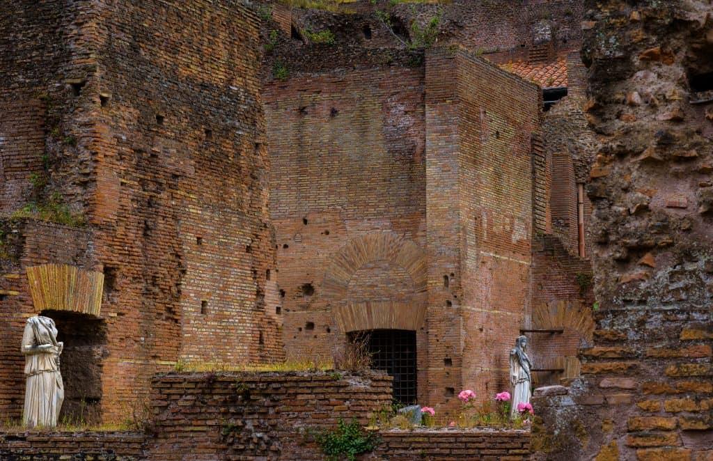 Atrium Vestae, Roman Forum, Rome, Italy
