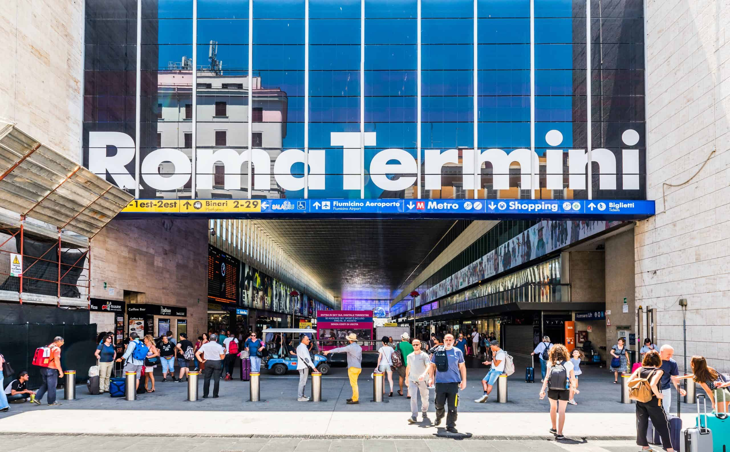 Best Day Trips from Rome, Roma Termini Station