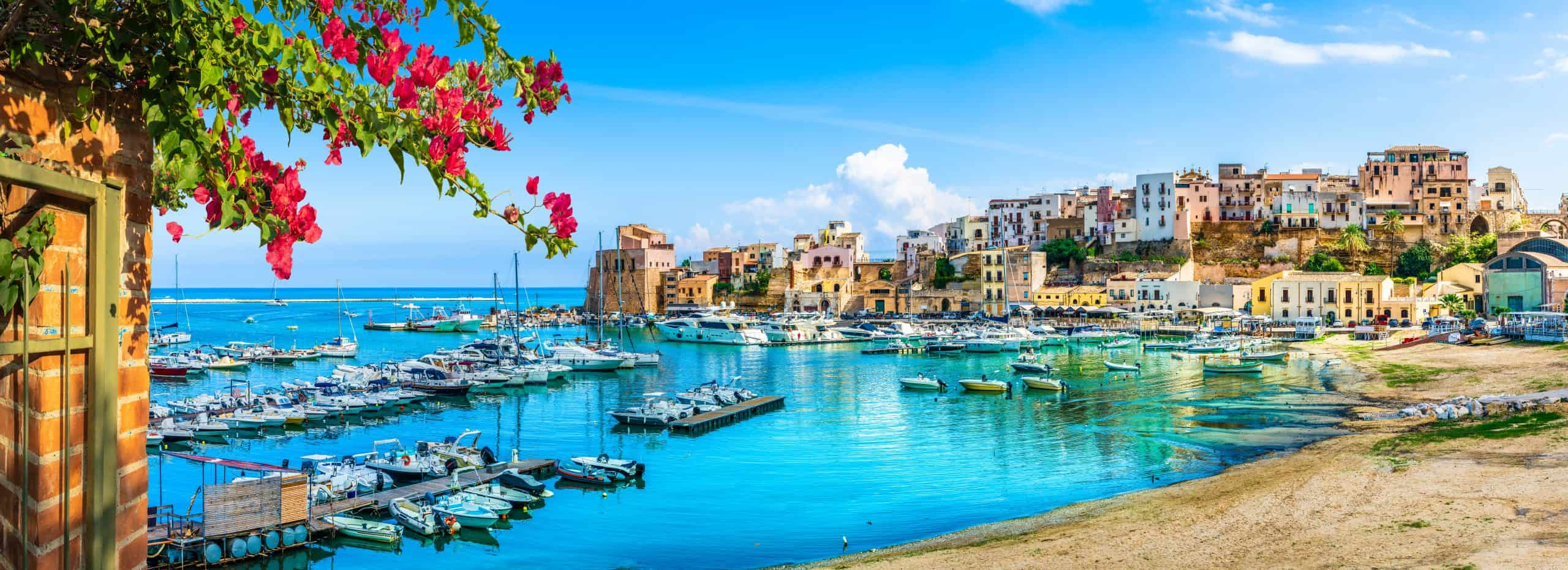 Charming Sicilian town in May, the best time to visit Sicily