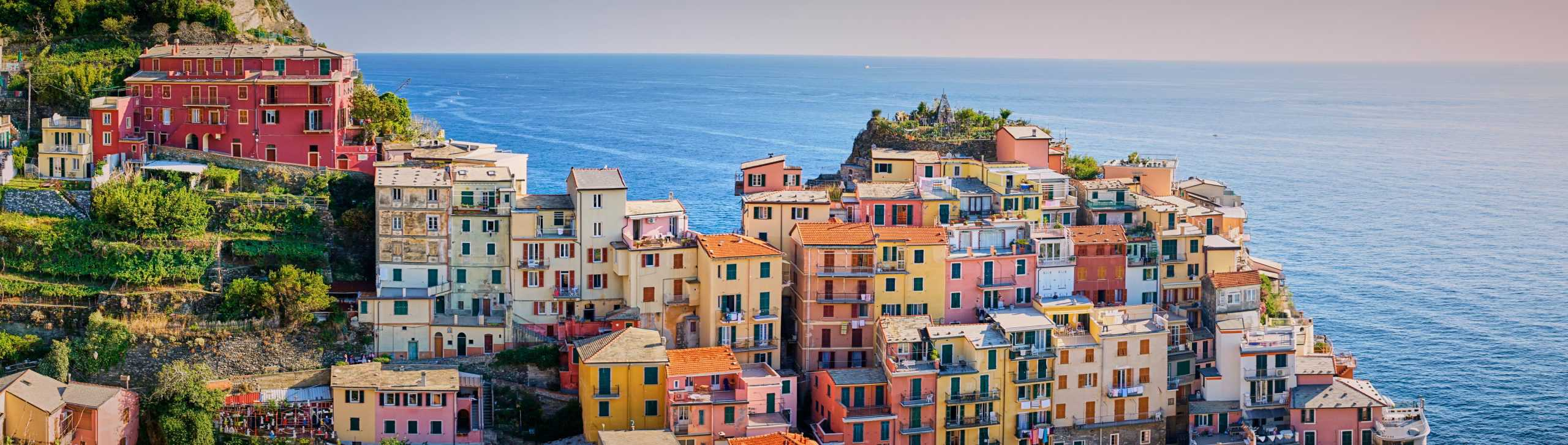 Cinque Terre, Italian Rivera, in September, the best time to visit for pleasant weather