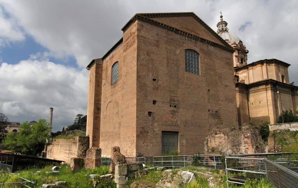 Curia Julia, Roman Forum, Rome, Italy