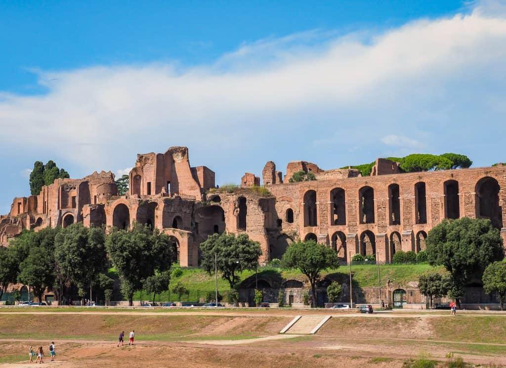 Palatine Hill Ruins, Rome, Italy