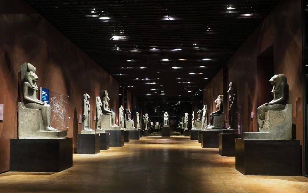 The Egyptian Museum, Muzeo Egizio, Turin, Italy