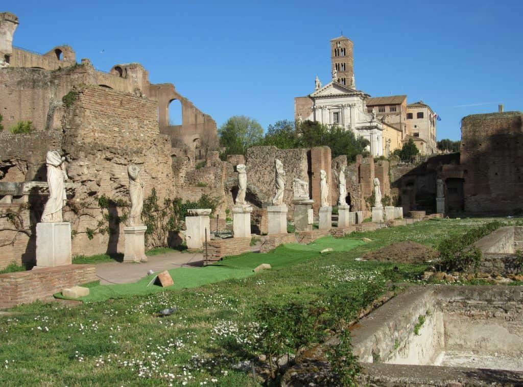 The Regia, Roman Forum, Rome, Italy