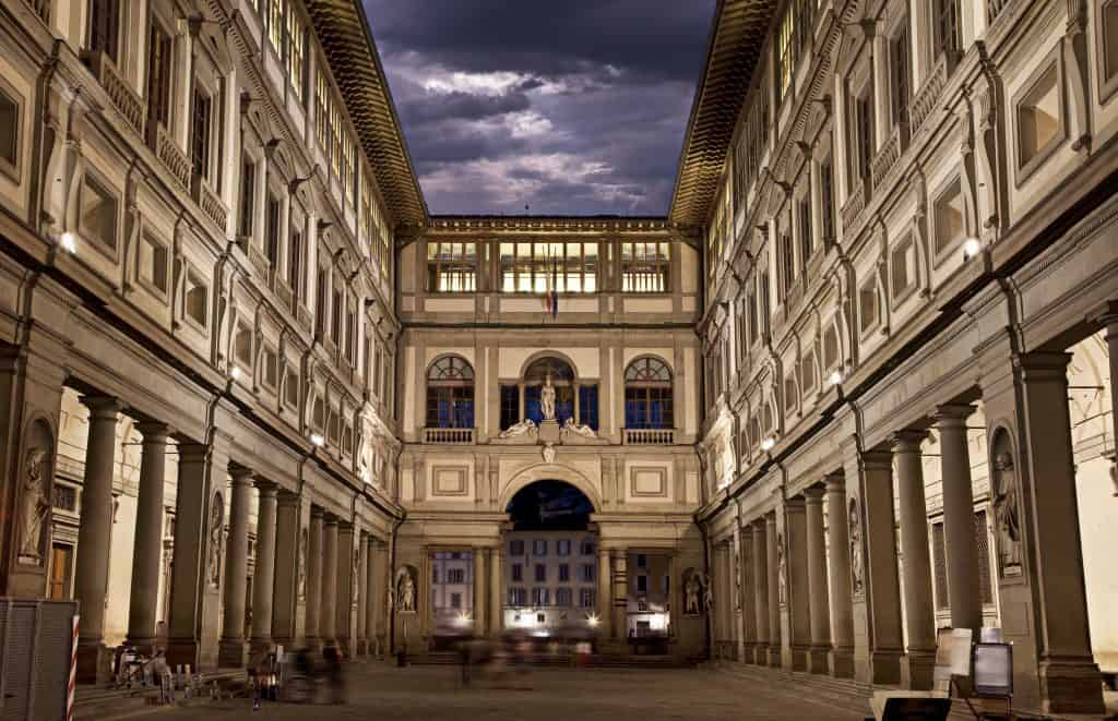 The Uffizi Gallery, Florence, Italy