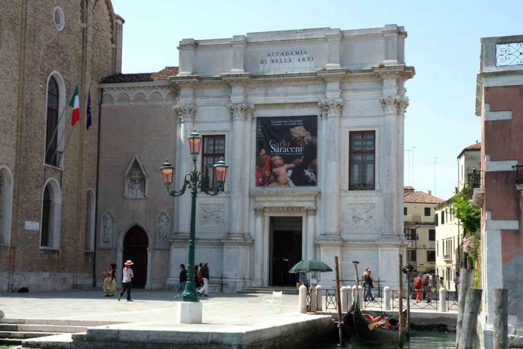 The Venetian Academy Gallery, Venice, Italy