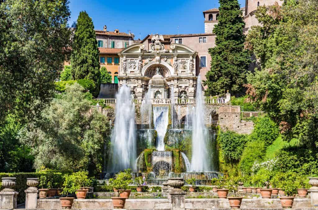Villa d'Este Tour in Tivoli, Italy